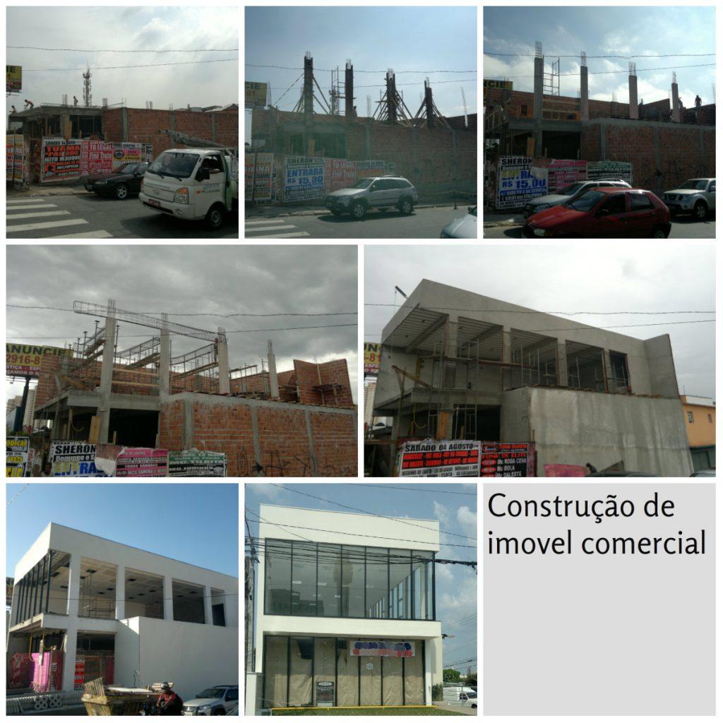 Construção de imóvel comercial